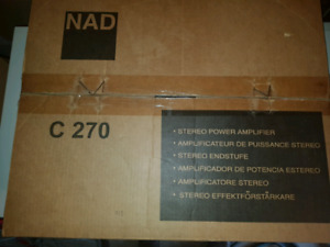 NAD C270 STEREO  AMPLIFIER -BRAND NEW