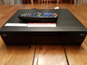 Bell HD9241 satellite dual tuner PVR with remote