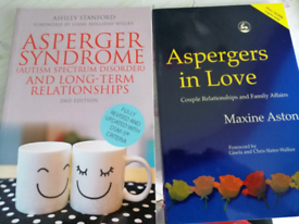 Two books on Asperger's and Relationships