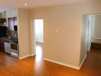 UPSCALE, SOPHISTICATED, RENOVATED, 2 bedroom in quiet duplex