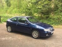 2001 renault megane coupe 1.6 petrol cheap car for quick sale