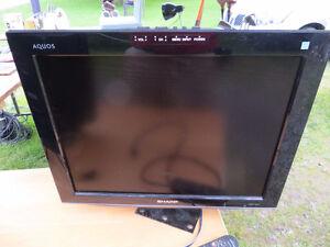 Sharp 18 inch TV