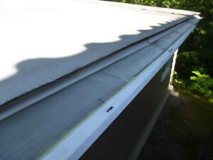 eavestrough cover/guard 10 ft long,