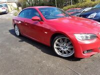 BMW 3 SERIES 3 Series 3.0 330d M Sport (red) 2008