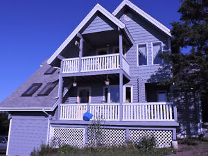 Unique country home overlooking the ocean, 65 min from NS border