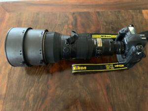 Nikkor 400mm f/2.8 D ED IF AF-S II