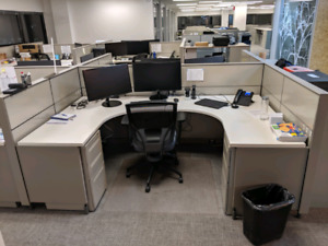 Herman Miller Modular  Office Cubicles