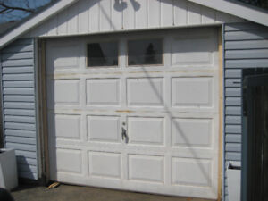 7' x 8' aluminum garage door