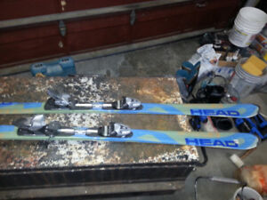 Skis and boots size 11 in Good Condition