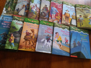 Kids books-Magic Tree House-13 books-Some in excellent condition