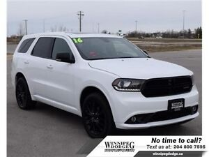 2016 Dodge Durango Limited Blacktop AWD w/Dual DVD  Sunroof  w/D