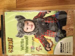 Baby werewolf costume 12-18 months