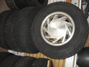 Nokian Hakkapelitta set of 4 winter tires on rims
