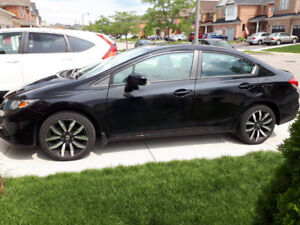 2014 Honda Civic Touring  Accident Free Low Kms