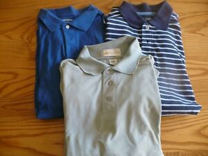 Lot of 3 Men's XL Golf Shirts