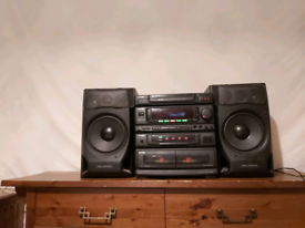 Aiwa Z-1800 compact disc stereo system