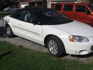 2001 Chrysler Sebring Limited Convertible REDUCED TO $500