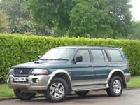 2003 Mitsubishi Shogun Sport 2.5TD Equippe***LOW MILES 96K + CAMBELBELT CHANGED*