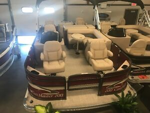 2017 Palm Beach 200 Castmaster with a 90 E-tec 10 yr Warranty!