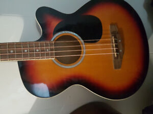 acoustic electric bass  for squier/epiphone