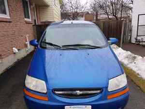 2005 Chevrolet aveo 1000$ OBO runs great
