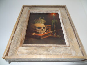 """$280 """"Get Busy"""" litho of skull death by Unknown"""