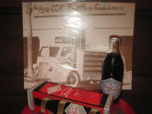 Commemorative Coke bottle/box etc.