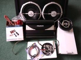 Auna speaker sound system for car