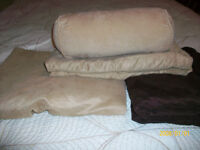 King Douvet Cover with 2 sets of shams and pillow