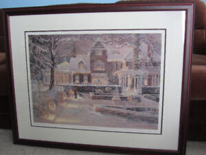 "Framed Limited Edition Print - Trisha Romance - ""All Is Calm"""