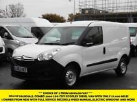 2014 VAUXHALL COMBO 2000 L1H1 CDTI S/S ECOFLEX DIESEL VAN WITH ONLY 57.000 MILES