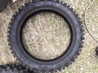 Pitbike tyre and parts