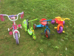 Kids Bikes and Scooter Excellent Condition $10
