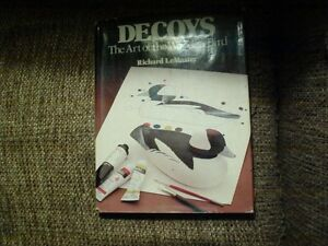 BOOK #B-157  DECOYS THE ART OF THE WOODEN BIRD by R. LeMasters