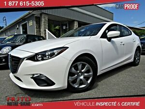 Mazda MAZDA3 4dr Sdn GX-SKY Automatique * Air* Nouvel Arrivage