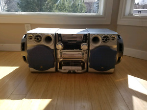 JVC MX-J700 Audio System