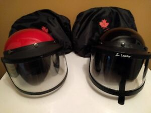 Snowmobile Helmets with Bags