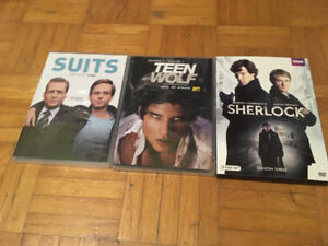 Various Tv shows - Suits/Teen Wolf/Sherlock