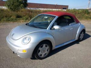 2003 Volkswagen Beetle Cabriolet Convertible