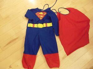 Superman Halloween Costume - size 3T