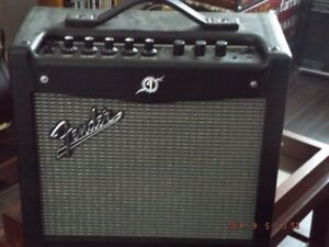 Fender Mustang I v.2 guitar amplifier for sale.