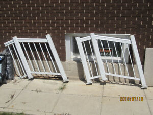 Aluminum 2 step Stair railing