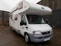McLouis Tandy Plus 7 Berth 6 Traveling Seats Fiat Ducatto Bunk Beds Ref 9026