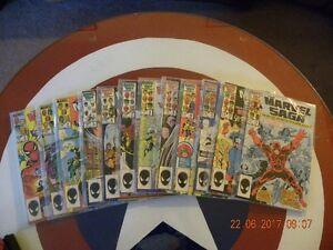 12 Marvel Saga Comics 1986