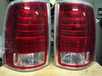 Led tail lights for a newer ram