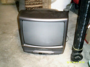 TV With VHS