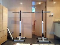 Heavy duty squat rack stand power weight bench