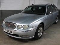 Dec 2001 ROVER 75 TOURER 2.0 CDT 115 BHP CONNOISSEUR DIESEL ESTATE Htd.LEATHER