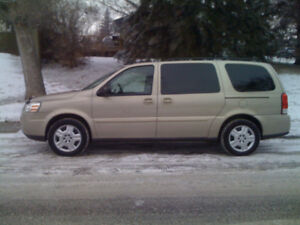 7 Passengers! Only 189000kms! 2009 Chevy Uplander $5500obo