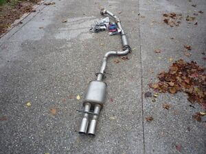 Turbo back exhaust for 1.8T VW